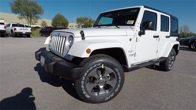 New 2018 Jeep Wrangler Unlimited Sahara 4D Sport Utility in St