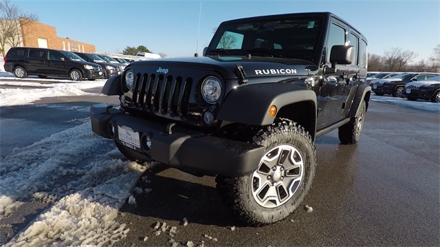 New 2018 JEEP Wrangler Unlimited Unlimited Rubicon