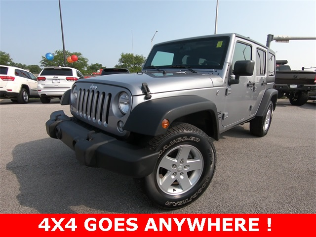 Certified Pre Owned 2016 Jeep Wrangler