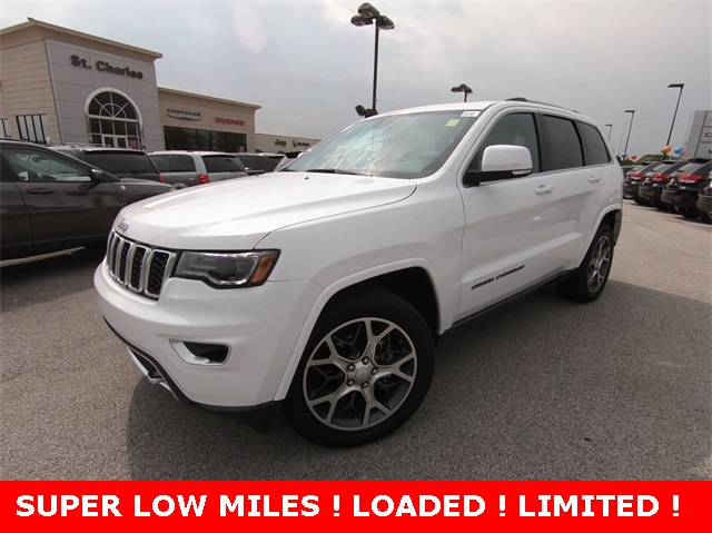 High Quality Certified Pre Owned 2018 Jeep Grand Cherokee Limited