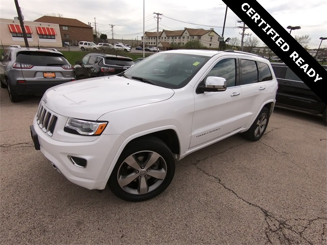 Certified Pre Owned 2016 Jeep Grand Cherokee Overland