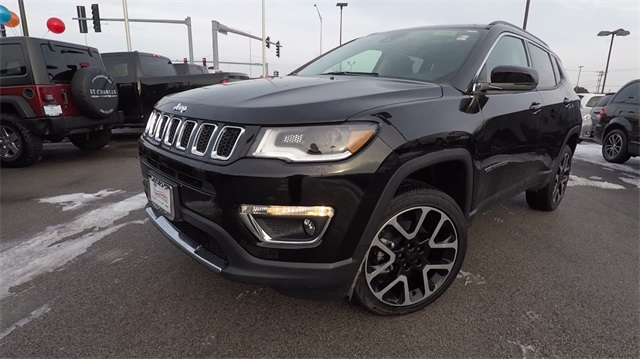 New 2018 Jeep Compass Limited Sport Utility In St Charles