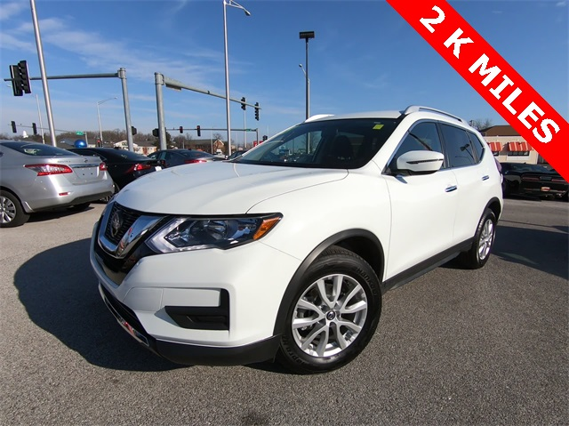 Pre Owned 2018 Nissan Rogue Sv 4d Sport Utility In St Charles